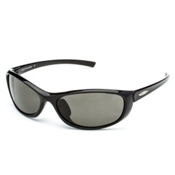 SunCloud Wisp Sunglasses, Black-Gray Polarized, medium
