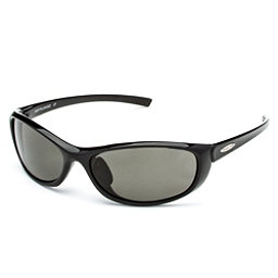 SunCloud Wisp Sunglasses, Black-Gray Polarized, 256
