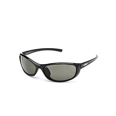 SunCloud Wisp Sunglasses, Black-Gray Polarized, viewer