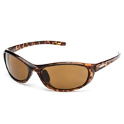 SunCloud Wisp Sunglasses, Tortoise-Brown Polarized, medium