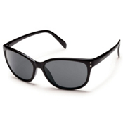 SunCloud Flutter Sunglasses, Black, medium