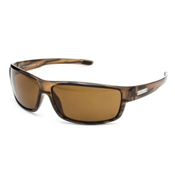 SunCloud Voucher Sunglasses, Brown Stripe, medium