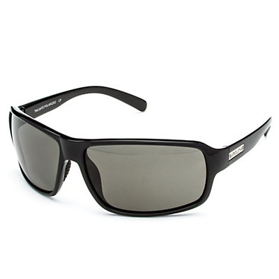 SunCloud Tailgate Sunglasses, Black-Gray Polarized, large