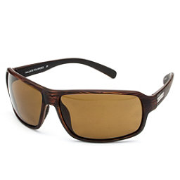 SunCloud Tailgate Sunglasses, Burnished Brown-Brown Polarized, 256