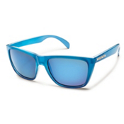 SunCloud Standby Sunglasses, Blue Backpaint, medium