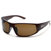 SunCloud Warrant Sunglasses, Matte Brown, medium