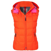 Bogner Fire + Ice Cali D Womens Vest, Neon Orange, medium