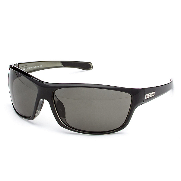 SunCloud Conductor Sunglasses, Black Backpaint-Gray Polarized, 600