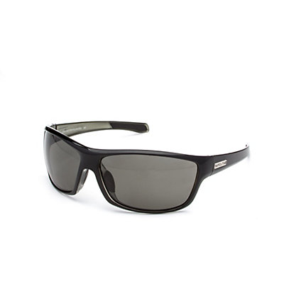 SunCloud Conductor Sunglasses, Black Backpaint-Gray Polarized, viewer