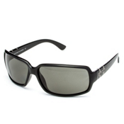 SunCloud Poptown Sunglasses, Black-Gray Polarized, medium