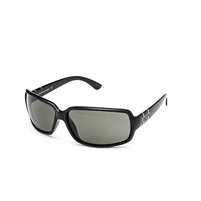 SunCloud Poptown Sunglasses, Black-Gray Polarized, viewer