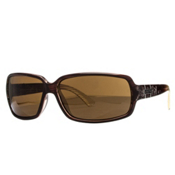 SunCloud Poptown Sunglasses, Brown Stripe Laser-Brown Polarized, medium