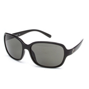 SunCloud Sequin Sunglasses, Black-Gray Polarized, medium