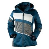 Obermeyer Charlotte Womens Insulated Ski Jacket, Emerald, medium