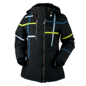 Obermeyer Rebecca Womens Insulated Ski Jacket, Black, medium