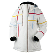 Obermeyer Rebecca Womens Insulated Ski Jacket, Powder, medium