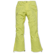 Nikita Pilatus Womens Snowboard Pants, Limelight, medium