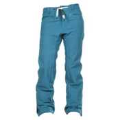 Nikita Pilatus Womens Snowboard Pants, Ocean Depths, medium