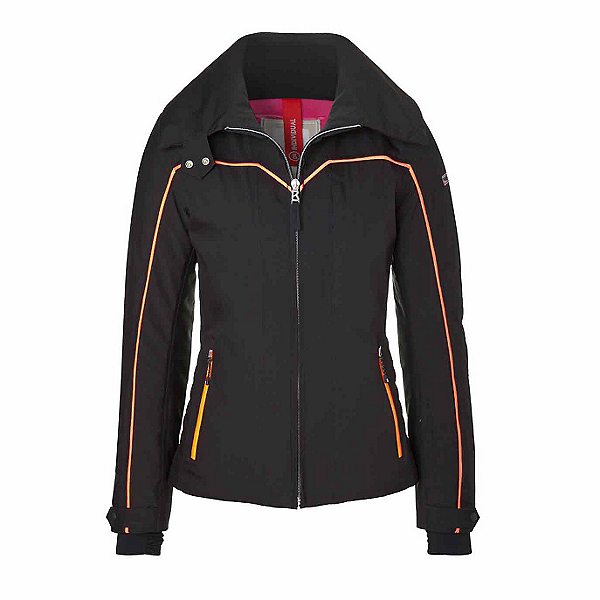 Bogner Fire + Ice Agneta Womens Insulated Ski Jacket, Black, 600