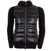 Neve Designs Paige Knit Down Jacket Womens Jacket, Black, medium