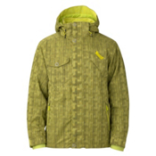 Marker Slater Mens Insulated Ski Jacket, Yellow, medium