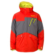 Marker Trance Mens Insulated Ski Jacket, Orange, medium