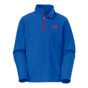 The North Face Glacier 1/4 Zip Kids Midlayer, Nautical Blue, medium