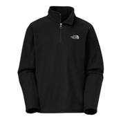 The North Face Glacier 1/4 Zip Kids Midlayer, TNF Black, medium