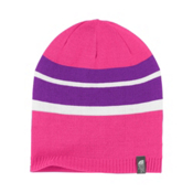 The North Face Reversible Leavenworth Girls Hat, Passion Pink, medium