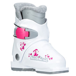 Rossignol R18 Girls Ski Boots, White, 256