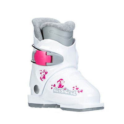 Rossignol R18 Girls Ski Boots 2017, White, viewer