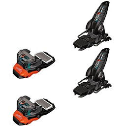 Marker Lord S.P. Ski Bindings, Black-White-Teal, 256