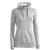 Under Armour Storm MTN Cotton Womens Hoodie, True Gray Heather, medium