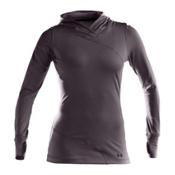 Under Armour Evo CG Hoody Womens Mid Layer, Black, medium
