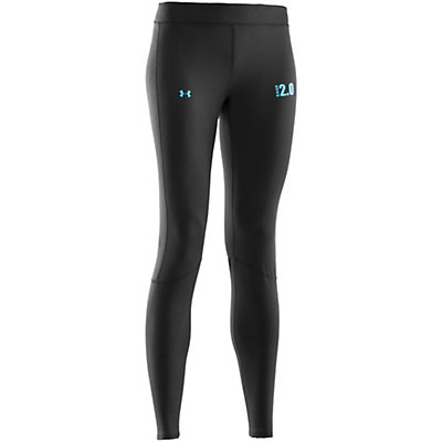 Under Armour Base 2.0 Leggings Womens Long Underwear Pants, Black, viewer