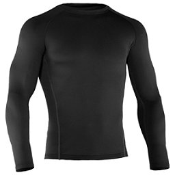Under Armour Base 2.0 Crew Mens Long Underwear Top, Black, 256