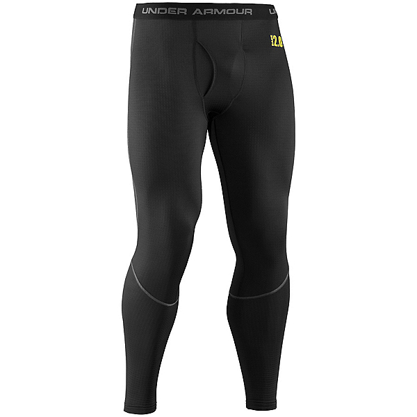 Under Armour Base 2.0 Legging Mens Long Underwear Pants, Black, 600