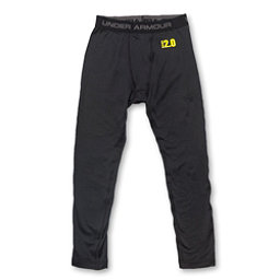 Under Armour Base 2.0 Leggings Kids Long Underwear Bottom, Black, 256