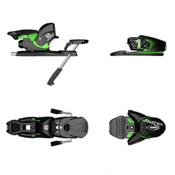 Salomon Z12 Ski Bindings, Black-Green, medium