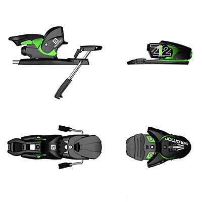 Salomon Z12 Ski Bindings, White-Black, viewer