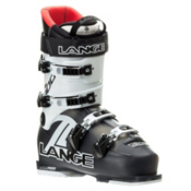 Lange RX 100 Ski Boots, Black-Red, medium