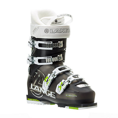 Lange RX 90 Womens Ski Boots, Anthracite-Lime, viewer