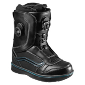 Vans Aura Boa Womens Snowboard Boots, Black-Blue, medium