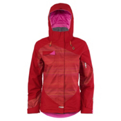 Scott Karisma Womens Insulated Ski Jacket, Rio Red-Red Gradient, medium