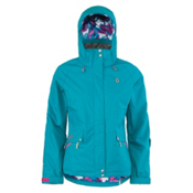 Scott Vezzanna Womens Insulated Ski Jacket, Ocean Blue, medium