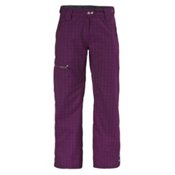 Scott Omak Womens Ski Pants, Dark Purple Plaid, medium