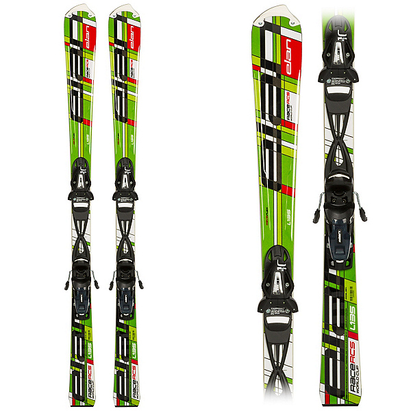 Elan RCS WaveFlex Plate Junior Race Skis, , 600