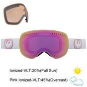 Dragon APXs Goggles, White-Pink Ion+ionized, medium