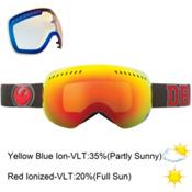 Dragon APXs Goggles, Team Spirit-Red Ion+Yellow Blue, medium