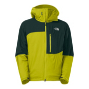 The North Face Makalu Mens Insulated Ski Jacket, Firefly, medium